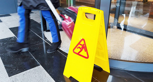 Don't let a slip or fall cripple your business